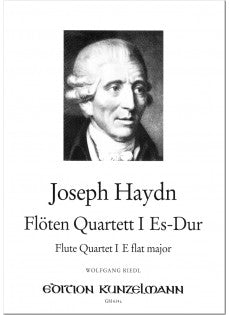 Flute Quartet No. 1 in E-flat Major (Flute, Violin, Viola, Cello)