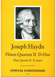 Flute Quartet No. 2 in D Major (Flute, Violin, Viola, Cello)