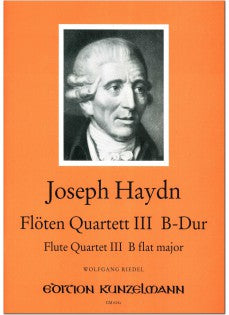 Flute Quartet No. 3 in B-flat Major (Flute, Violin, Viola, Cello)