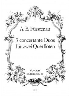 3 Duos Concertante for 2 Flutes