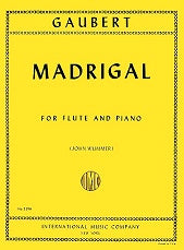 Madrigal (Flute and Piano)