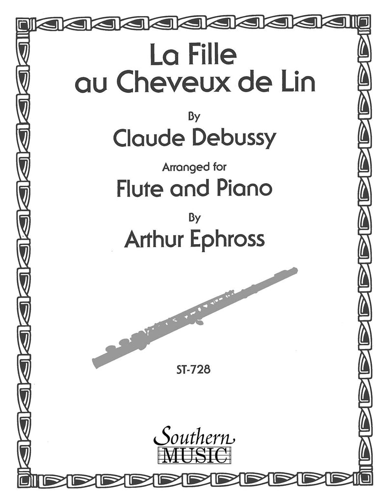 The Girl with the Flaxen Hair (La fille aux cheveux de lin) (Flute and Piano)