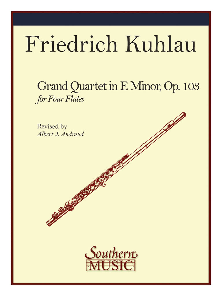 Grand Quartet Op. 103 (Four Flutes)