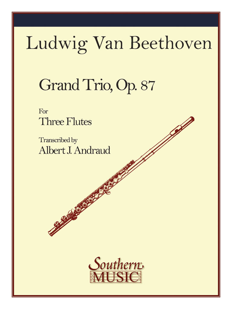 Grand Trio, Op. 87 (Three Flutes)