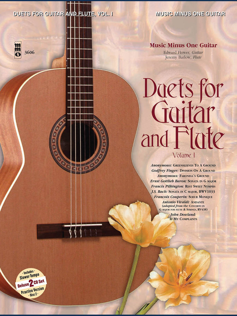 Guitar & Flute Duets – Vol. I, 2-CD Set