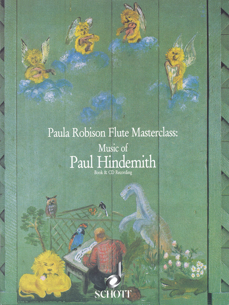 Paula Robison Flute Masterclass: Music of Paul Hindemith (Flute and Piano)