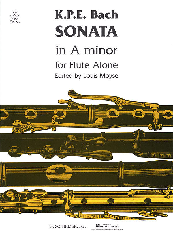 Sonata in A minor, Wq 132 (Flute Alone)