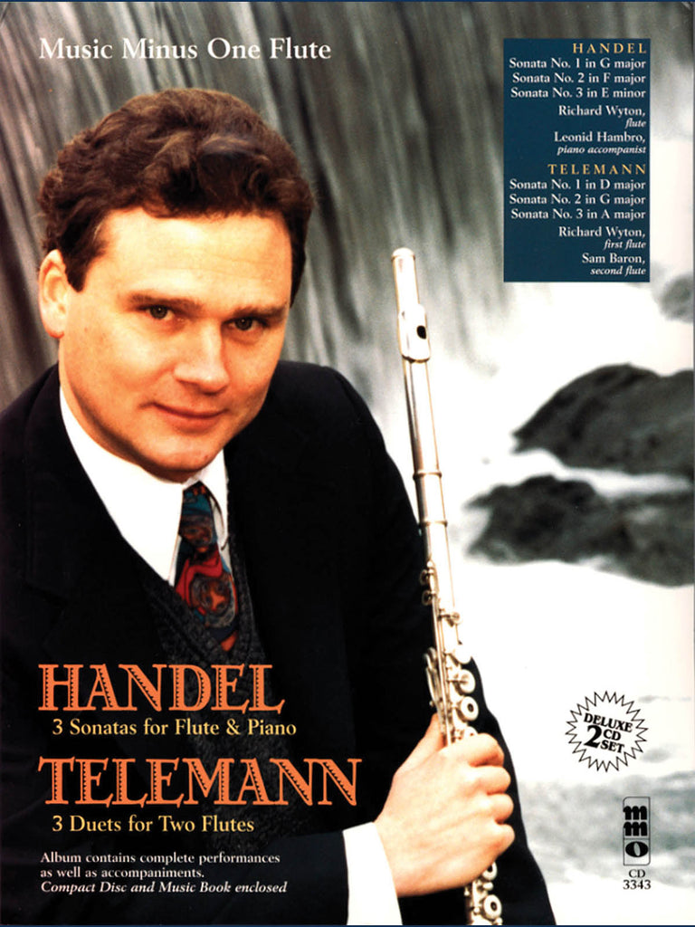 Flute Sonatas for Flute & Piano (Handel); 3 Duets for Two Flutes (Telemann)