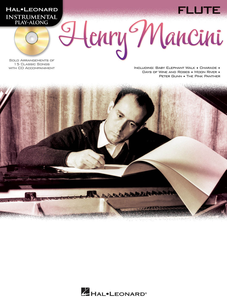 Henry Mancini Instrumental Play-Along Book/CD Pack