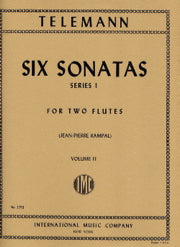 Six Sonatas, Series 1 - Volume 2 (Two Flutes)