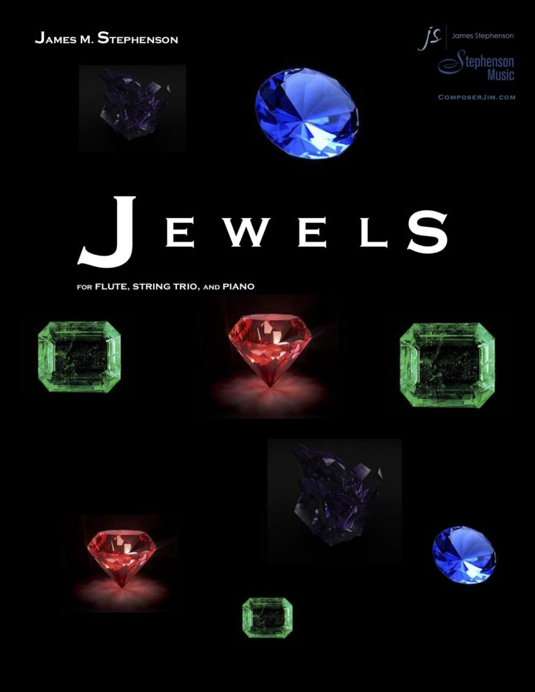 Jewels (Flute, Violin, Viola, Cello and Piano)