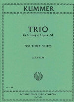 Trio in G Major, Op. 24 (Three Flutes)