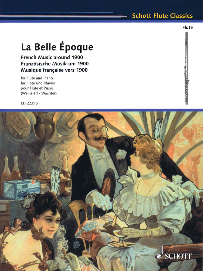 La Belle Époque: French Music Around 1900 (Flute and Piano)