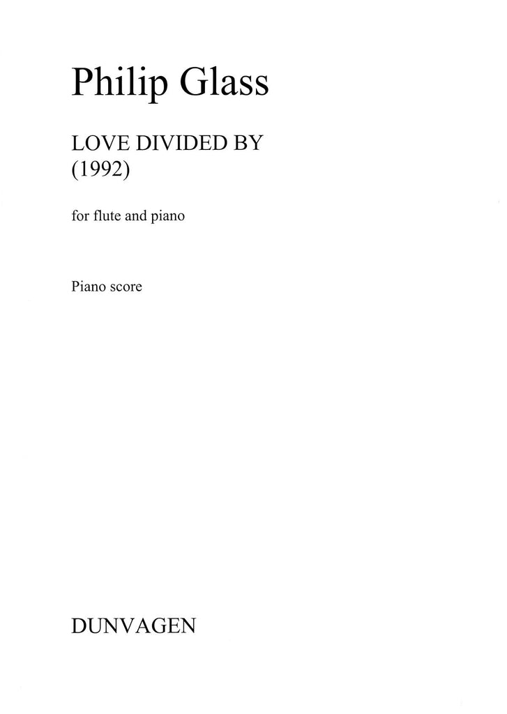 Love Divided By (Flute and Piano)