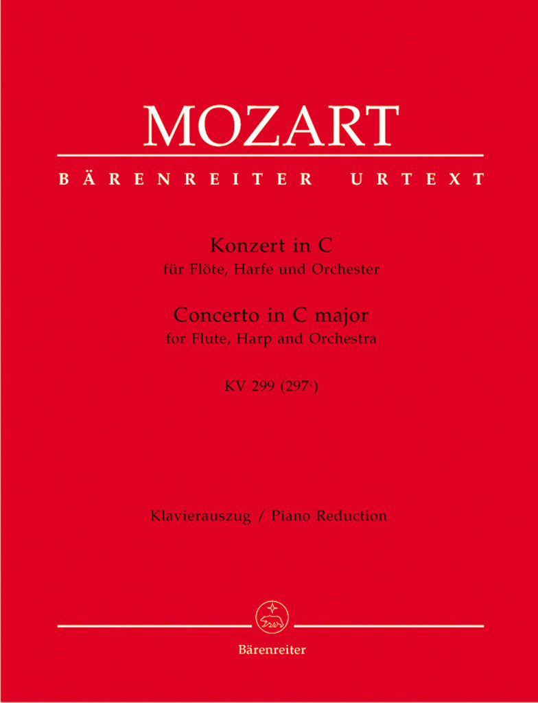 Concerto in C Major, K. 299 for Flute and Harp (Flute, Harp, Piano)