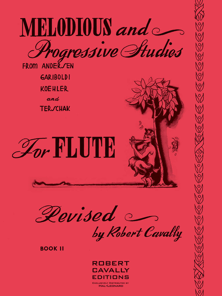 Melodious and Progressive Studies for Flute - Book 2