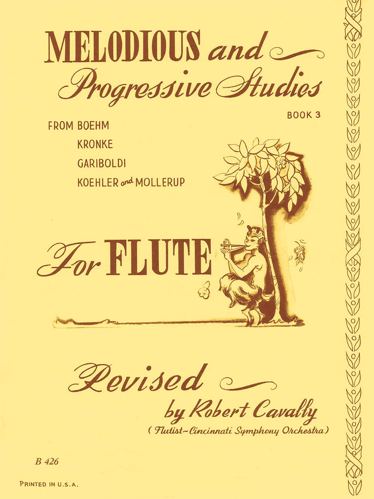 Melodious and Progressive Studies for Flute - Book 3