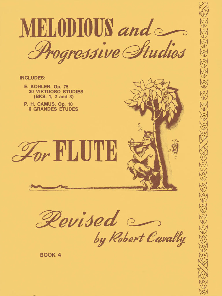 Melodious and Progressive Studies for Flute – Book 4A, 30 Virtuoso Studies in All Keys – Op. 75