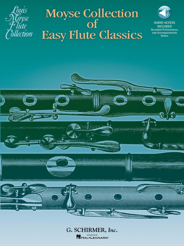 Moyse Collection of Easy Flute Classics (Flute and Piano)