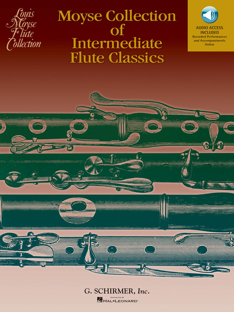 Moyse Collection of Intermediate Flute Classics (Flute and Piano)