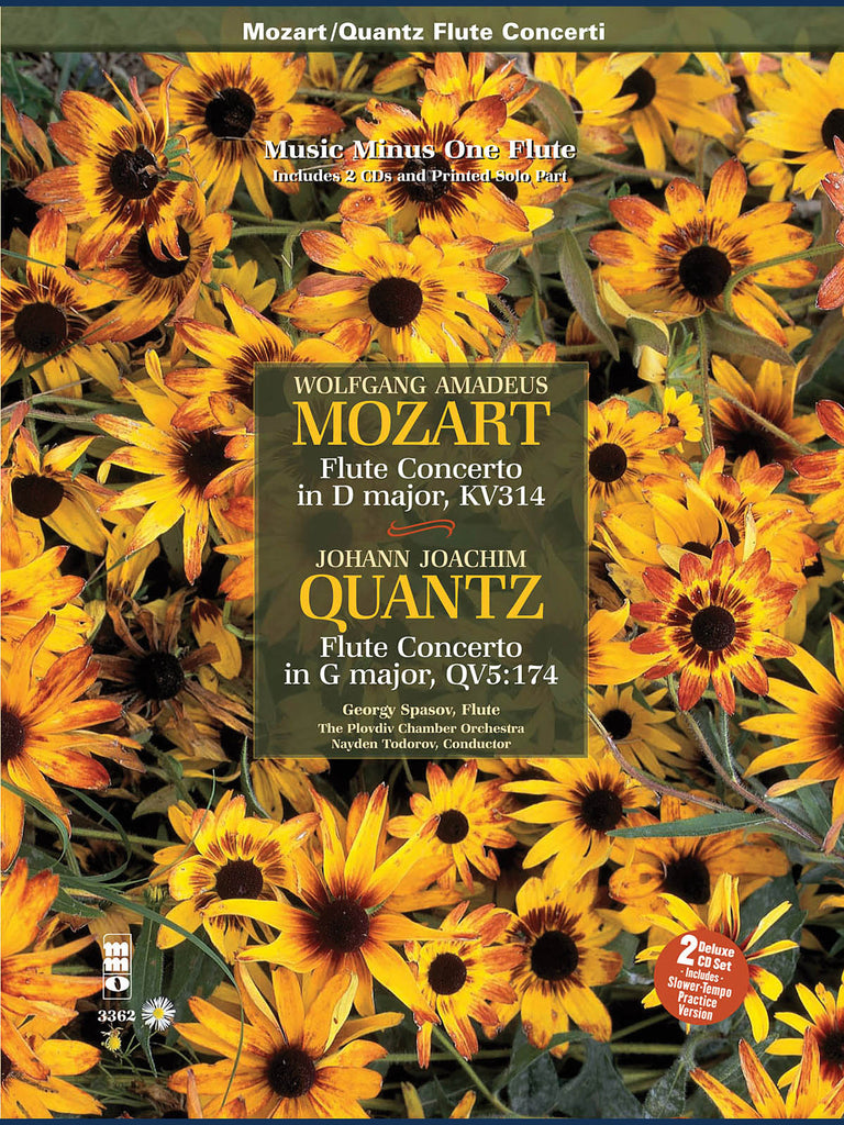 Flute Concerto No. 2 in D Major, K. 314 (Mozart); Flute Concerto in G Major (Quantz) (Flute and Piano)