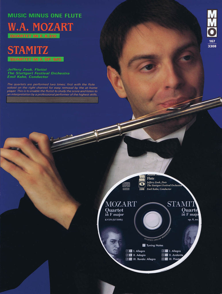 Quartet in F Major, Kv370 (Mozart); Quartet in F Major, Op. 8, No. 3 (Stamitz) (flute, violin, viola, cello)