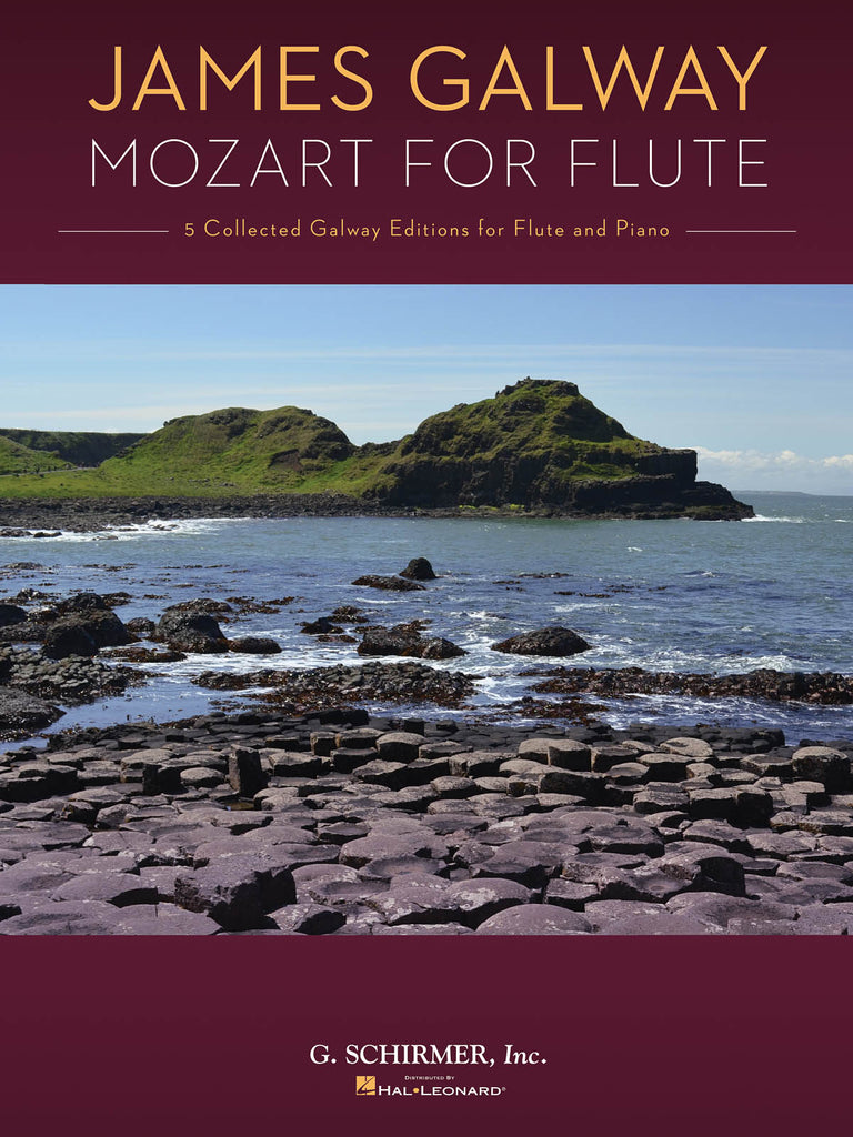 Mozart for Flute - 5 Collected Galway Editions (Flute and Piano)