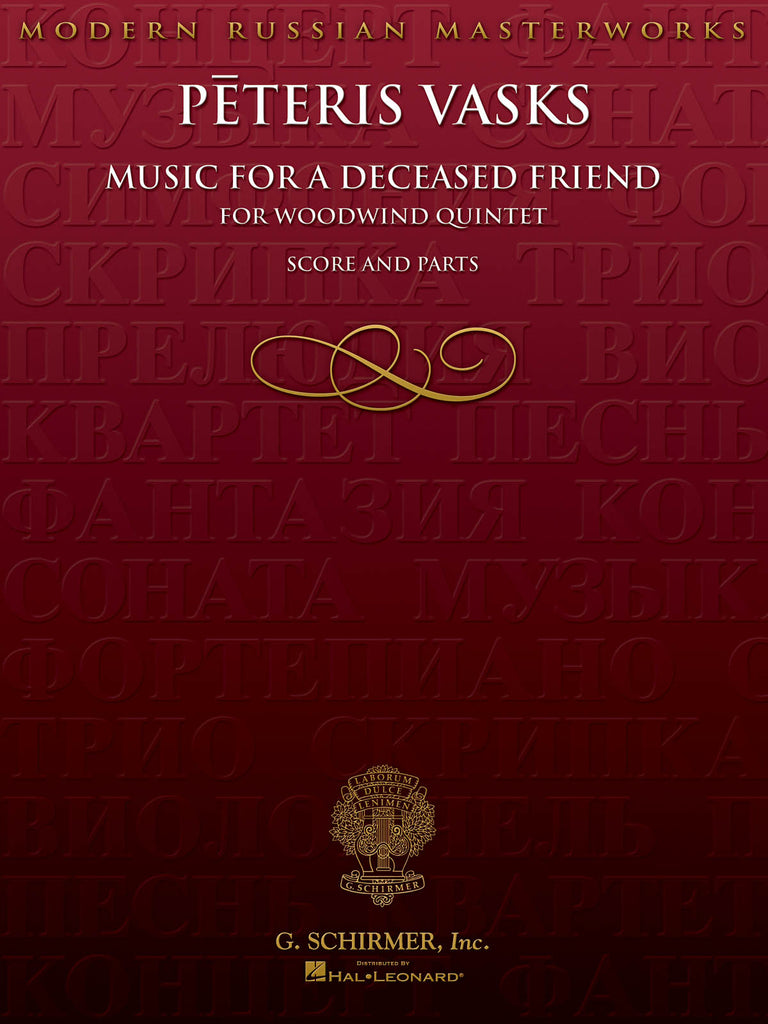 Music for a Deceased Friend (Woodwind Quintet)