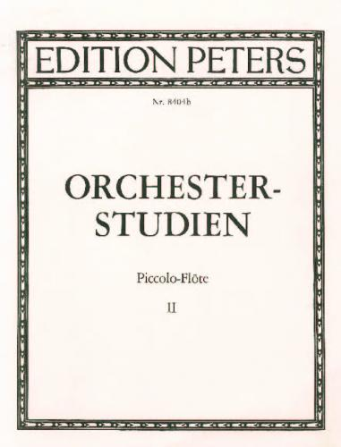 Orchestral Studies for Piccolo Vol. 2