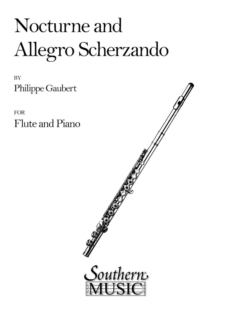 Nocturne and Allegro Scherzando (Flute and Piano)