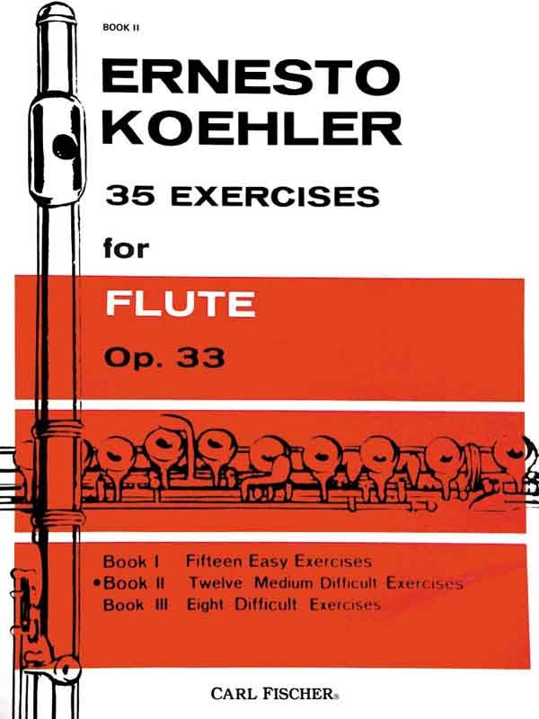 35 Exercises for Flute, Op. 33, Book 2