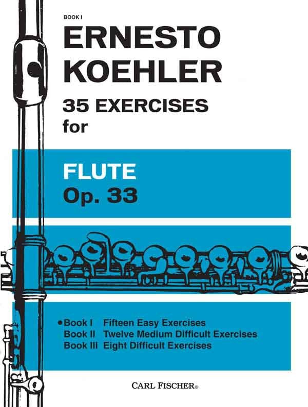 35 Exercises for Flute, Op. 33, Book 1