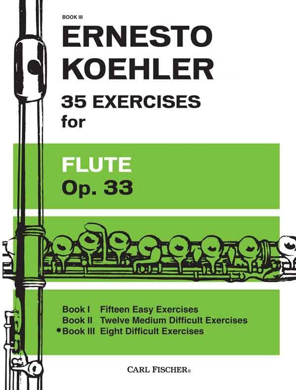 35 Exercises for Flute, Op. 33, Book 3