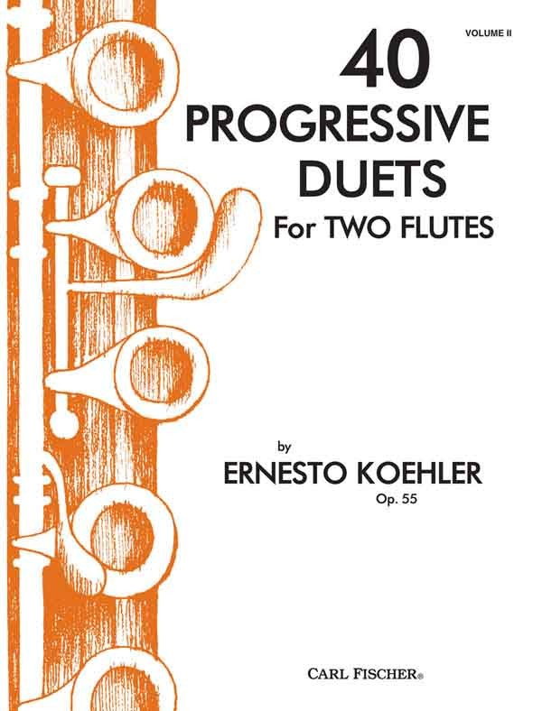 40 Progressive Duets for Two Flutes, Opus 55