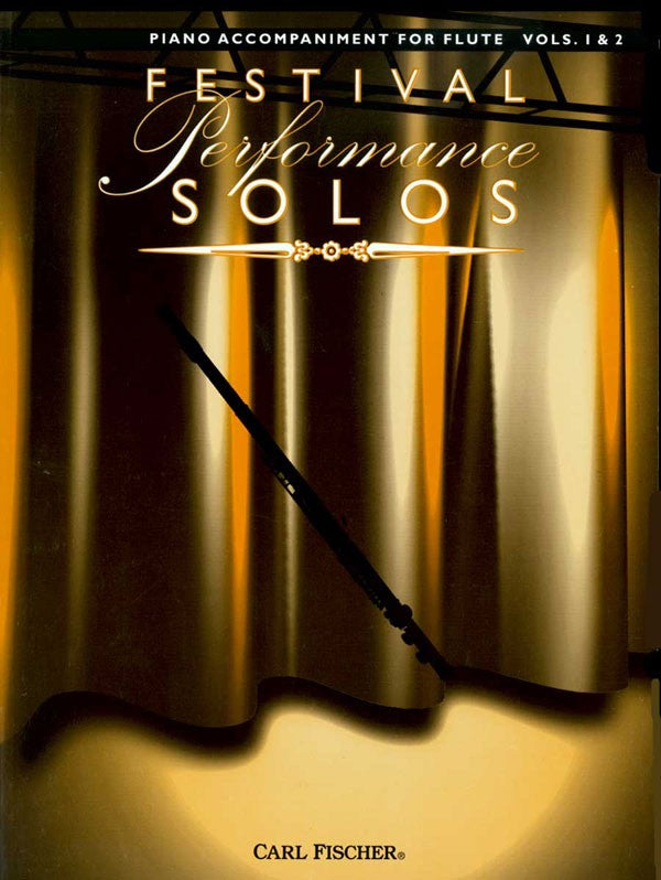 Festival Performance Solos - Piano Part, Volumes 1 & 2