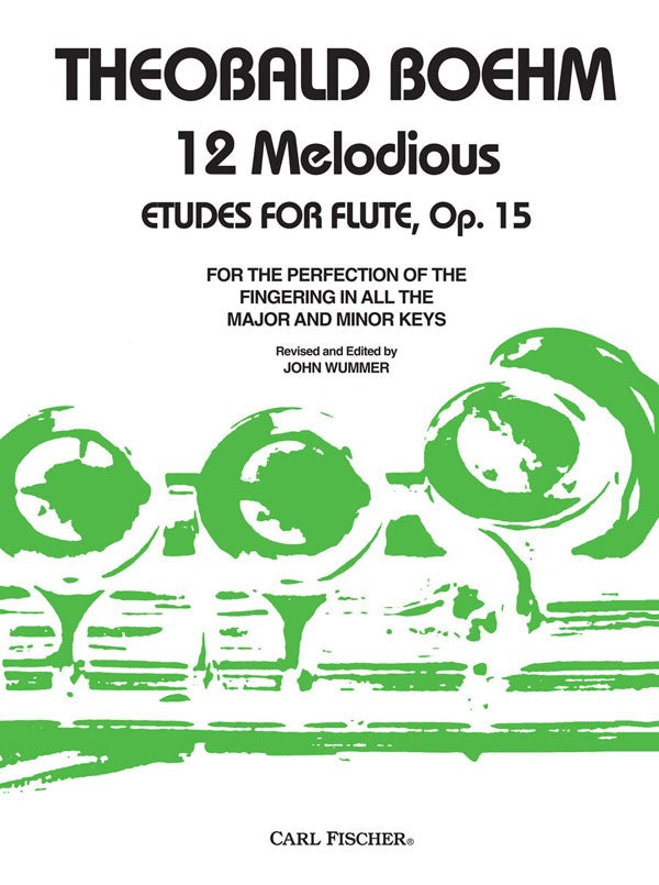 Twelve Grand Studies, Opus 15 (Flute Alone)