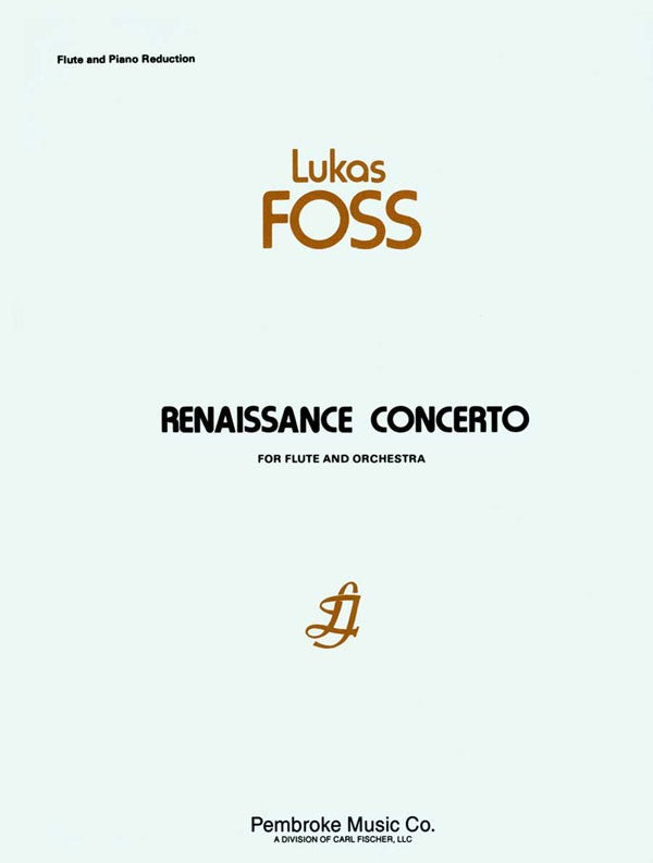 Renassiance Concerto (Flute and Piano)