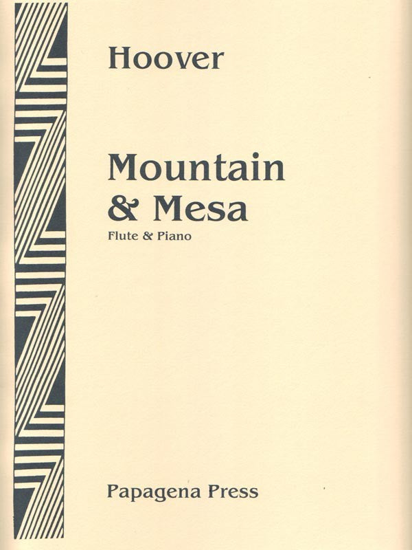 Mountain & Mesa (Flute and Piano)