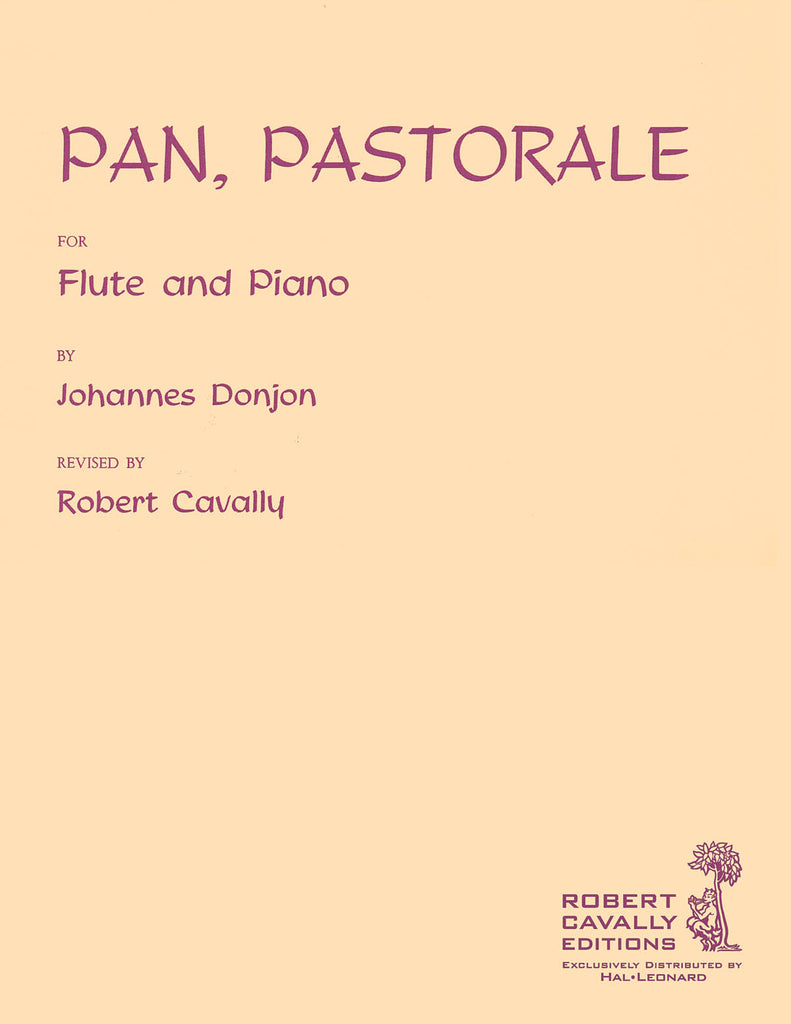 Pan (Pastorale) (Flute and Piano)