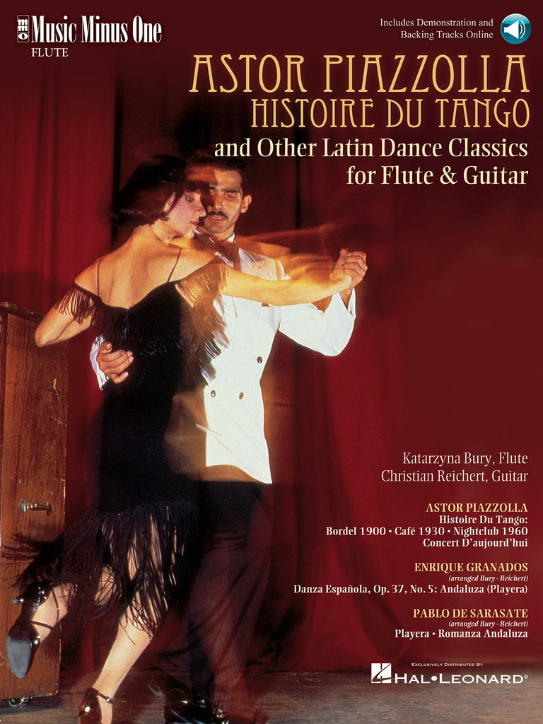 Histoire Du Tango (Piazzolla) and Other Latin Classics (Flute and Guitar)