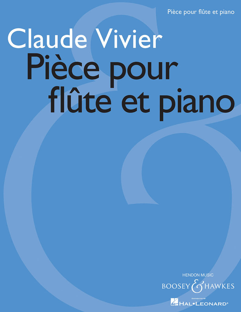 Pièce (Flute and Piano)