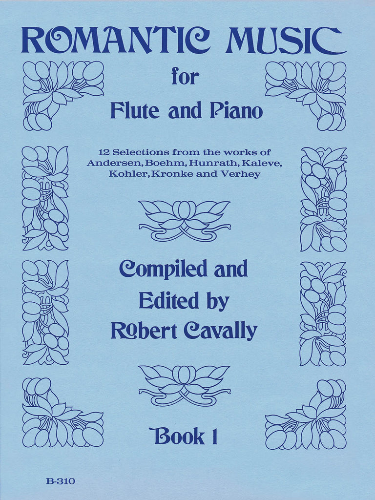 Romantic Music for Flute – Book 1 (Flute and Piano)