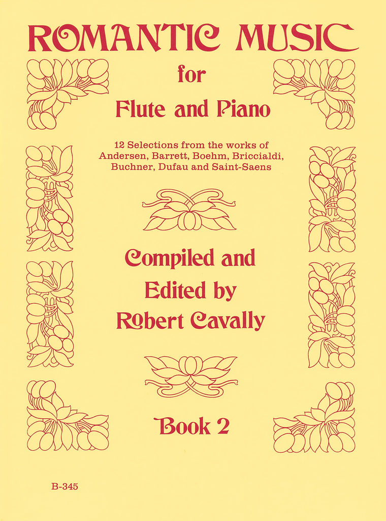 Romantic Music for Flute – Book 2 (Flute and Piano)