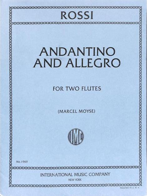 Andantino and Allegro (Two Flutes)