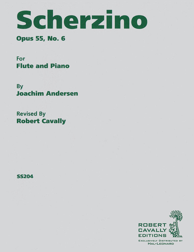 Scherzino (from Eight Performance Pieces, Op. 55) (Flute and Piano)