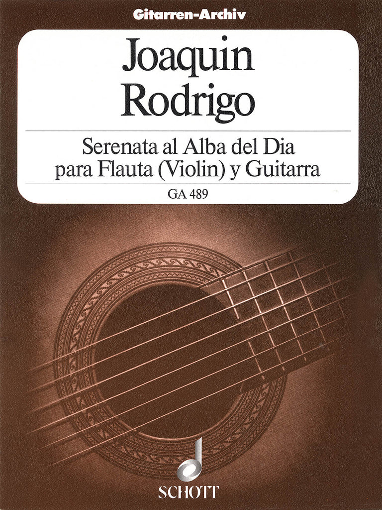 Serenata al Alba (Serenade to the Dawn) (Flute and Guitar)