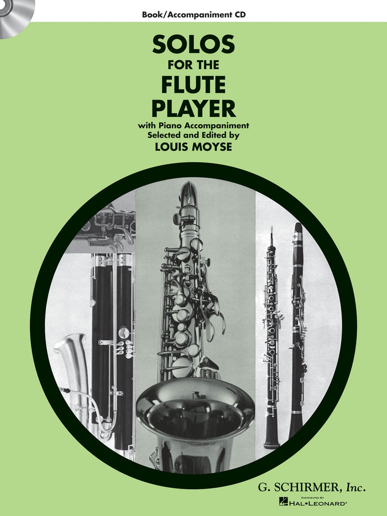Solos for the Flute Player (w/CD Acc't)