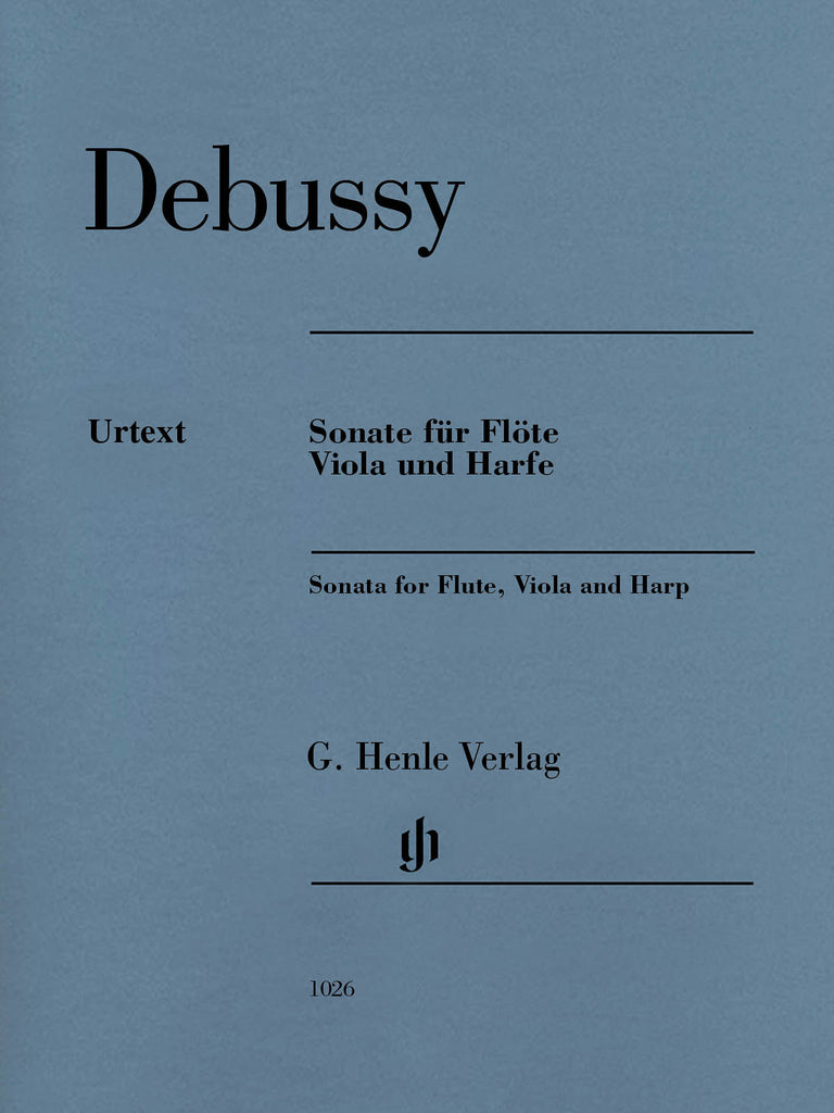 Sonata for Flute, Viola and Harp