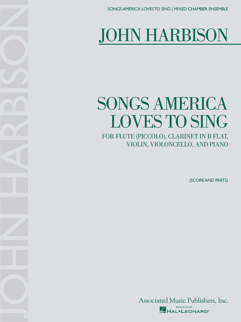 Songs America Loves to Sing (flute, clarinet, violin, cello, piano)