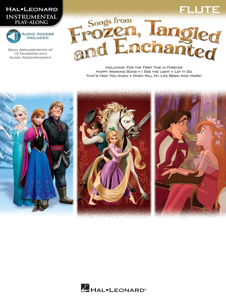 Songs from Frozen, Tangled and Enchanted (Popular Arrangements)